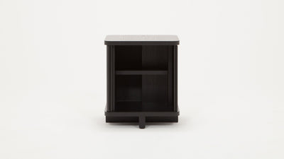 tambour end table
