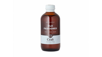 craft old fashioned cocktail syrup - 8oz