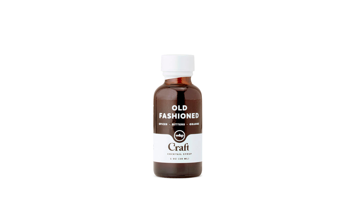 craft old fashioned cocktail syrup - 1oz