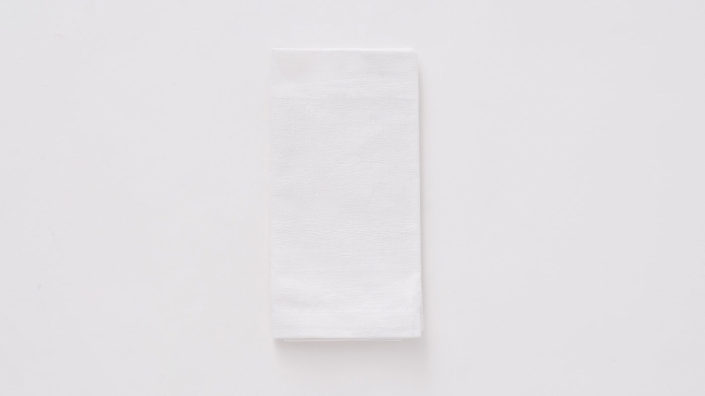acre napkins (white)