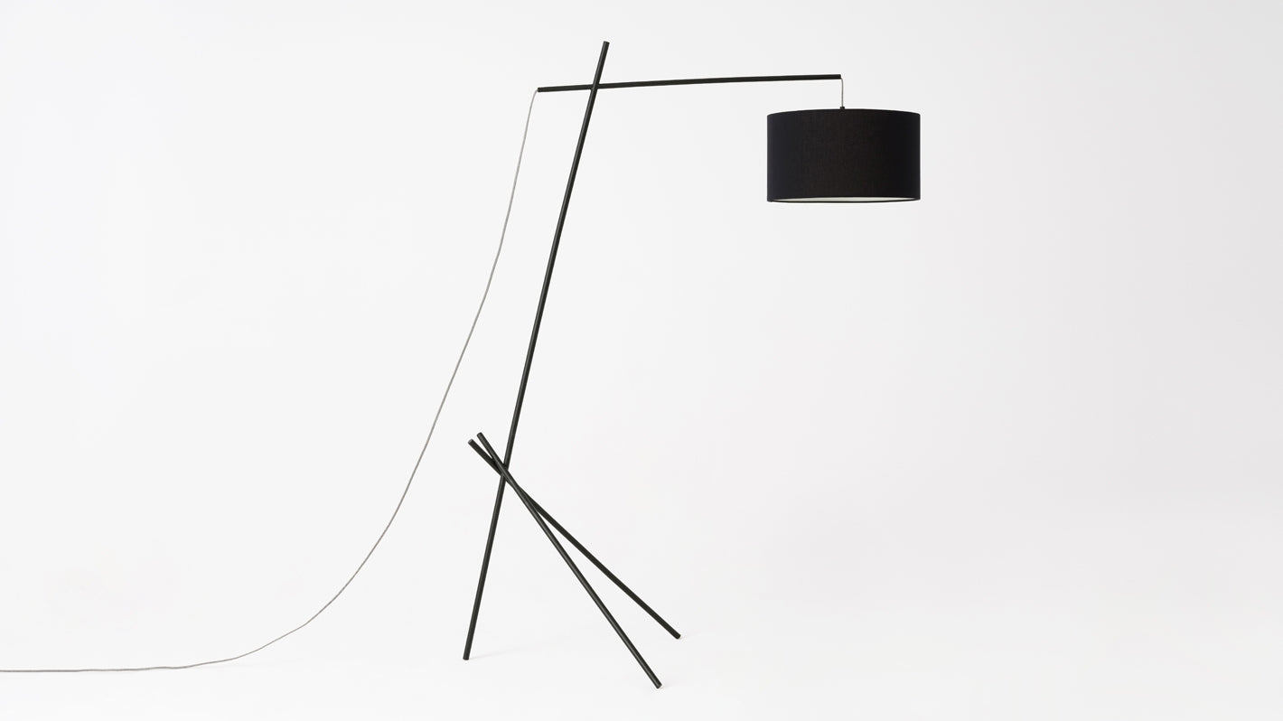 arvid floor lamp (black)
