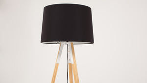 axle floor lamp (black)