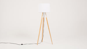 axle floor lamp (white)