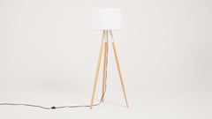 axle floor lamp - white
