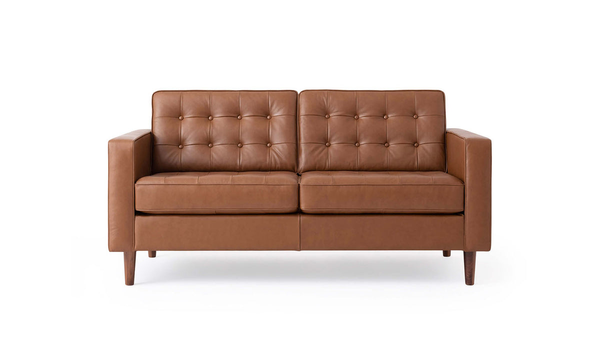 reverie loveseat - leather