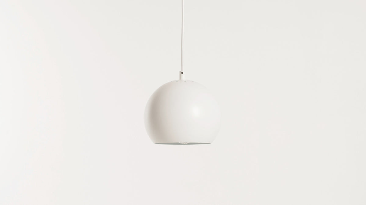 ball pendant lamp (white)