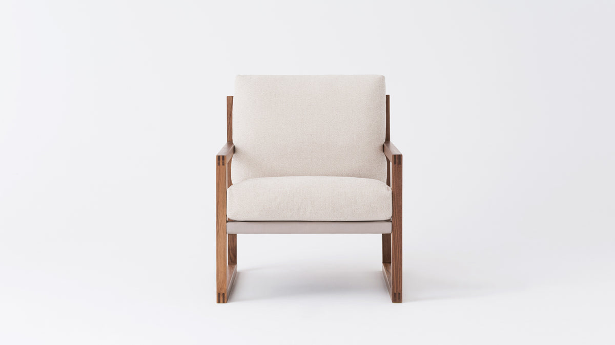 chiara lounge chair - fabric