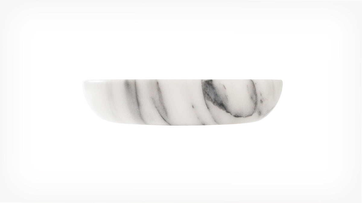 coast marble bowl (white)
