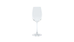 crisp white wine glass