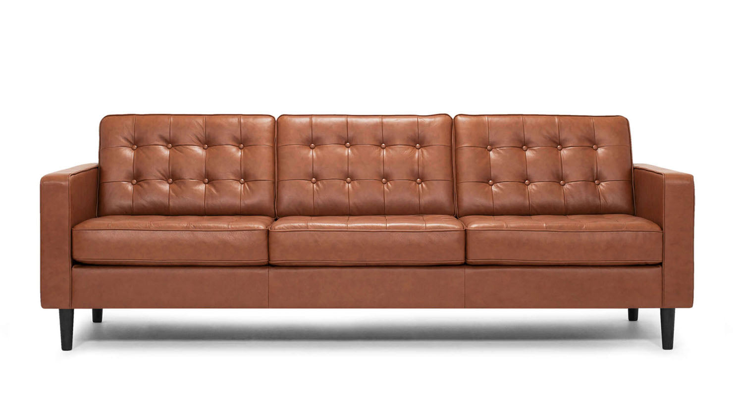 "reverie 92"" sofa - leather"