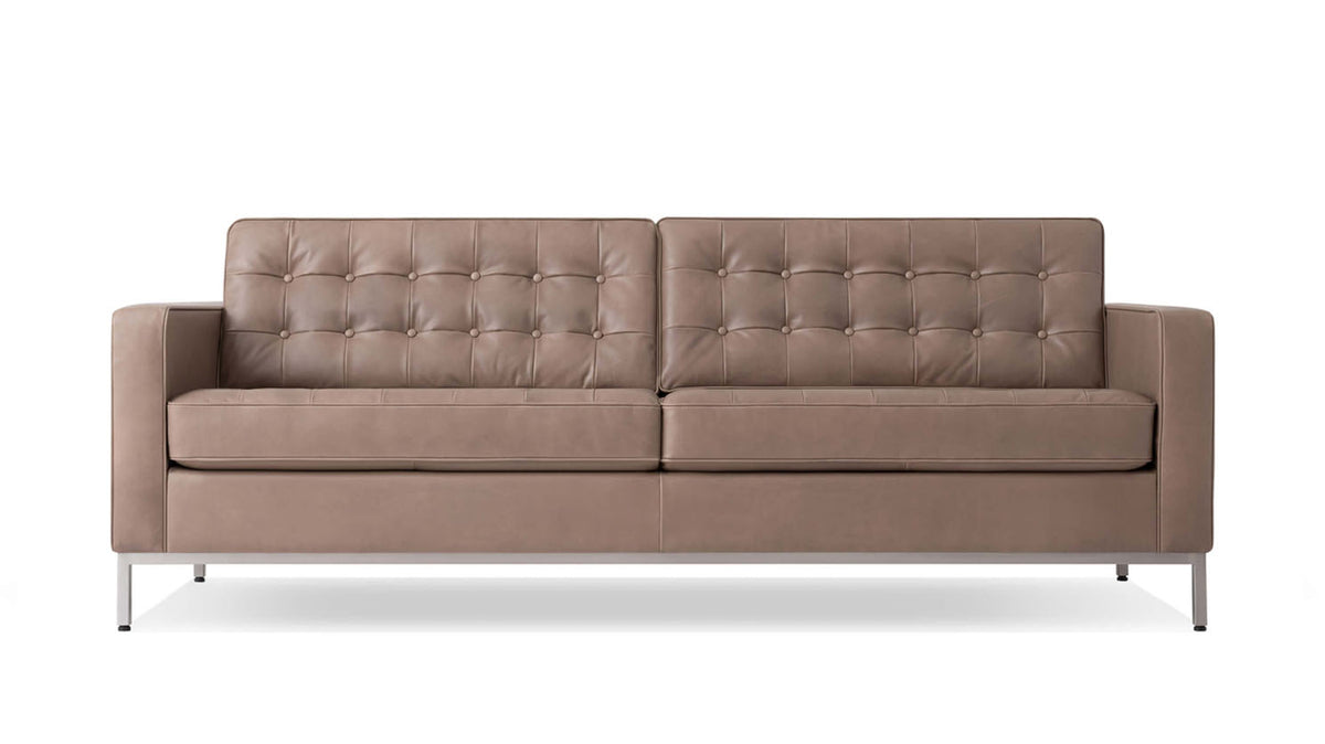 "reverie 86"" sofa - leather"