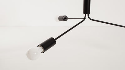 grand metro pendant lamp (black)