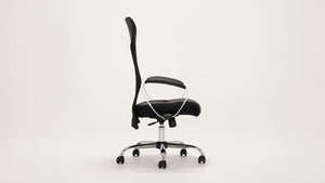 lotus office chair (black)