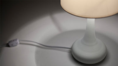 lunar table lamp (white)