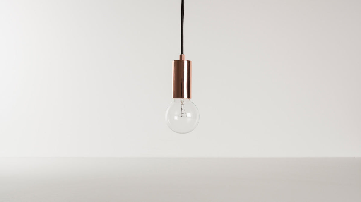 metro pendant lamp (copper)