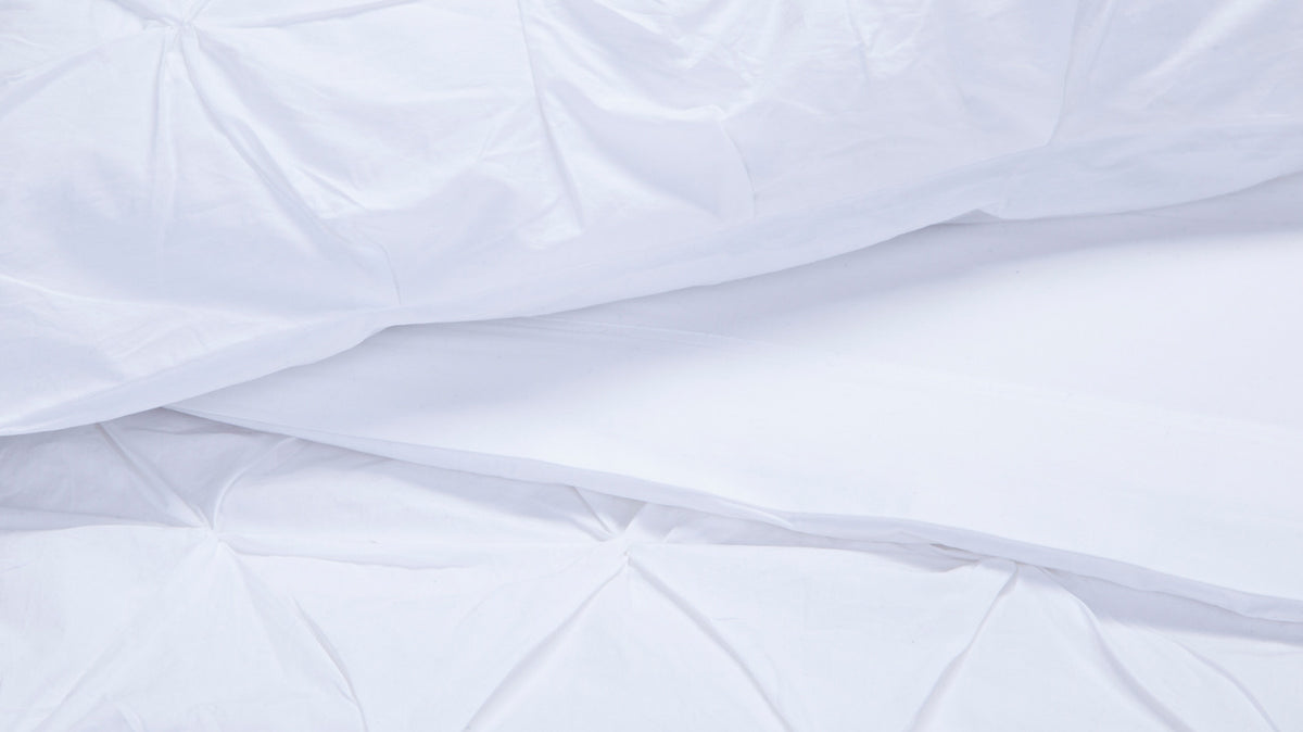 moncton duvet set (white)