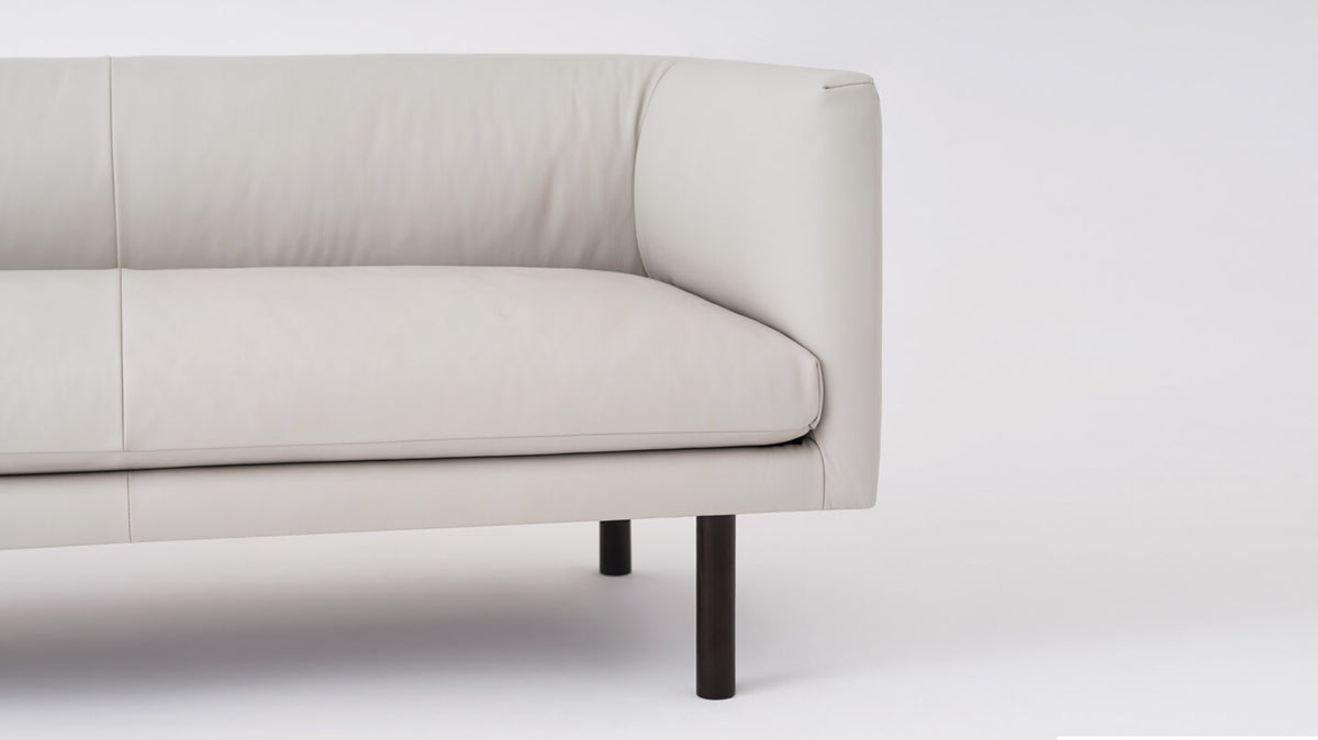replay club loveseat - leather
