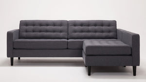 "reverie 86"" 2-piece sectional"