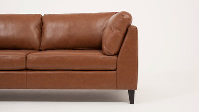 salema apartment sofa - leather