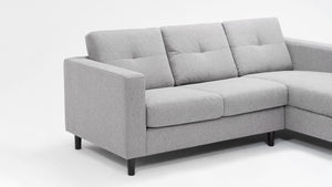 solo 2-piece sectional