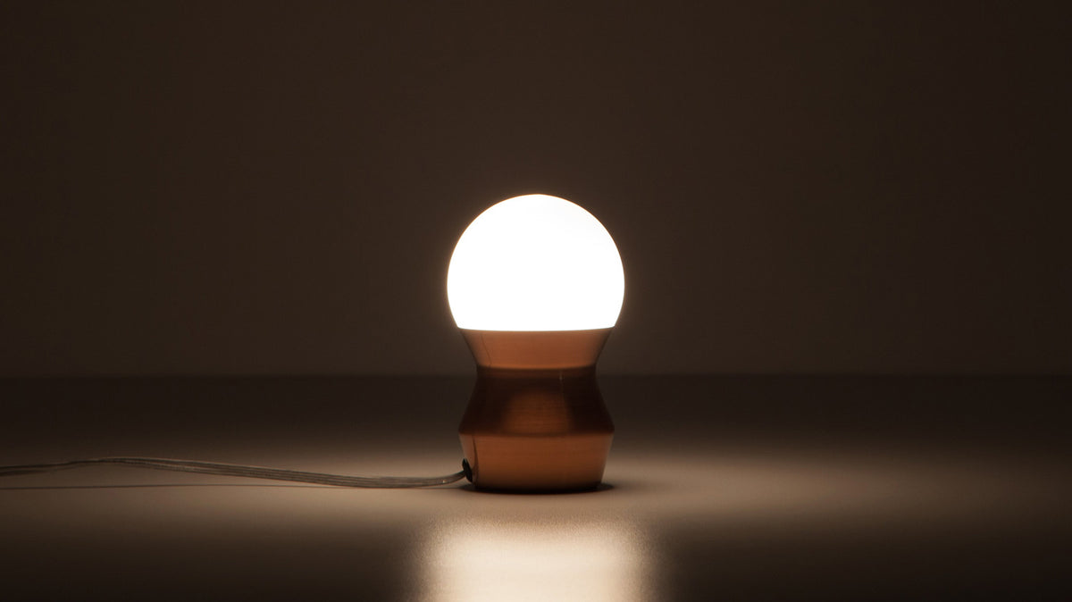 token table lamp (copper)