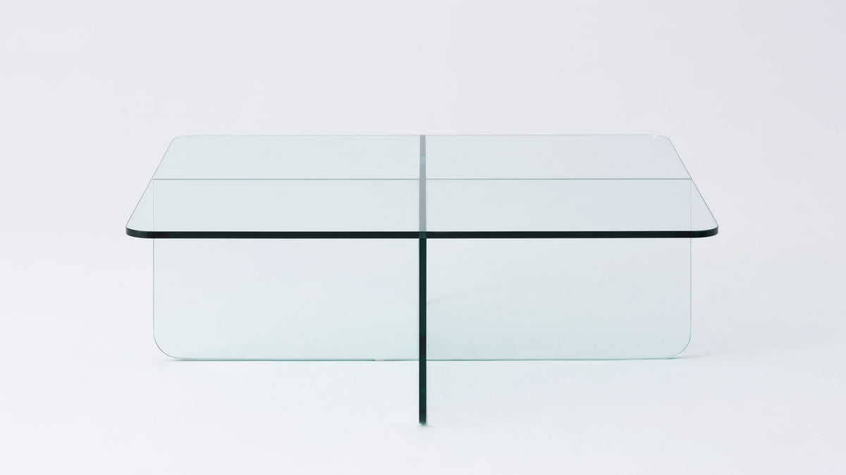 verre square coffee table
