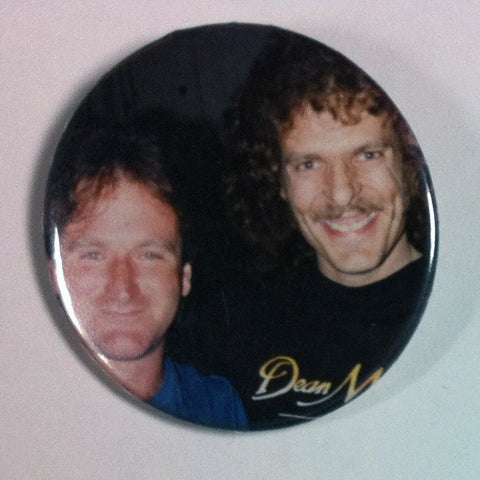 Robin Williams Button 2 Inch