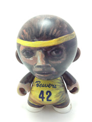 "Original Hand Painted Teen Wolf Munny Vinyl Figure 4"" Tall"