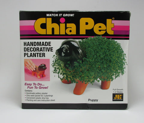 Chia Ceramic Dog Pet Planter