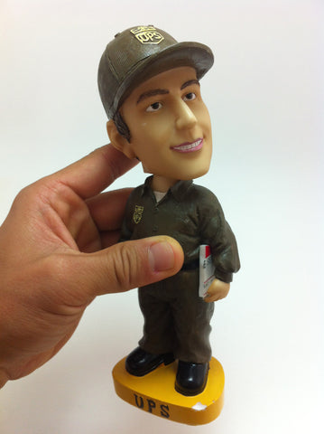 Adam Sandler UPS Guy Bobble Head Figure