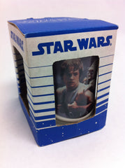 Star Wars Luke Skywalker Yoda Ceramic Mug