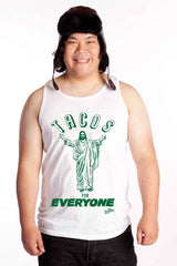 Tacos for Everyone Jesus Mens Tank Top Shirt