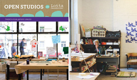 BOOK: Open Studios with Lotta Jansdotter (Twenty-Four Artists' Spaces)