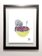 "Cereal Killer Needs Help 8.5 x 11"" Print"