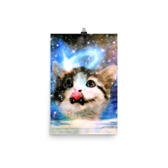 Galactic Space Cat Prints