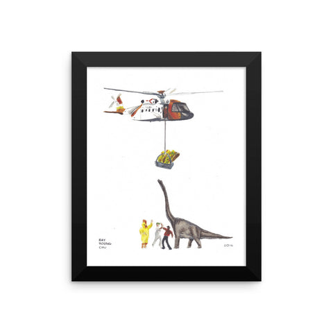 Taco Tuesday Framed Print