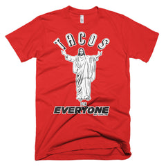 Tacos for Everyone Short Sleeve Unisex T-Shirt