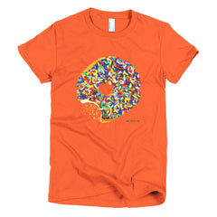 Sprinkled Donut Short Sleeve Women's T-Shirt