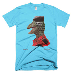 Dino Bricks Cut Short Sleeve Men's T-Shirt