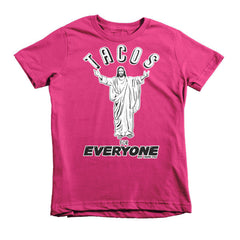Tacos for Everyone Short Sleeve Kids T-Shirt