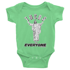 Tacos for Everyone Baby Short Sleeve One-Piece