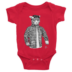 Gato Vato Baby Infant Short Sleeve One-Piece