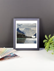 I'm Glad You're Here Framed Print