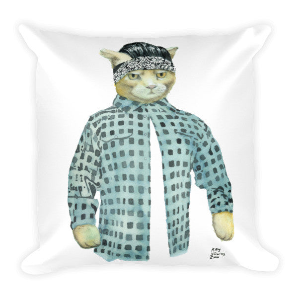 Gato Vato Pillow