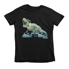 DJ Rexcut Short Sleeve Kids T-Shirt