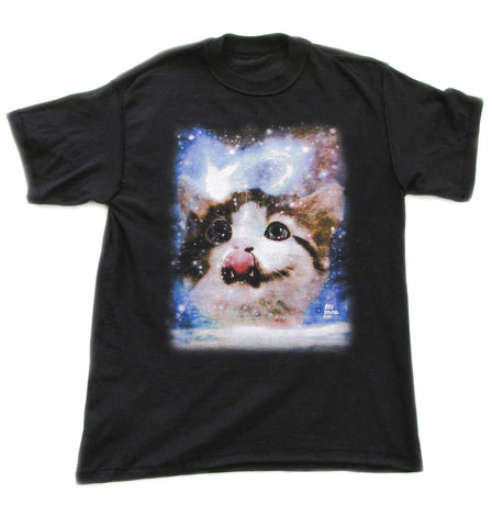 Mens Shirt Galactic Cat