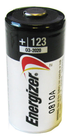 CR123A Energizer Lithium 8 Batteries Pack