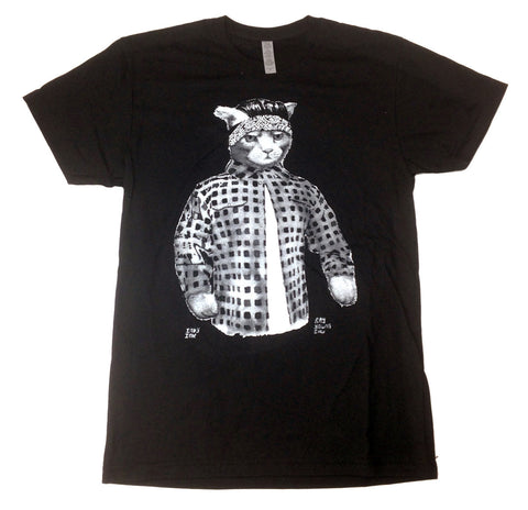 Gato Vato Mens T-Shirt Black