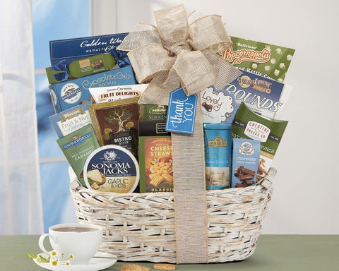 Many Thanks by Wine Country Gift Baskets - customgiftstore.com