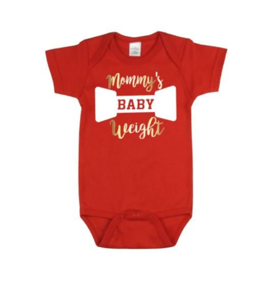 Mommy's Baby Weight Bodysuit | Baby Clothing | Mommy's Baby Bodysuit | Baby Shower | Baby One piece Baby Gift | Baby Clothes | Bodysuits